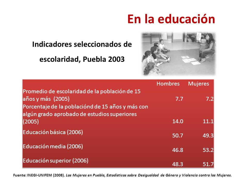 Fuente: INEGI-UNIFEM (2008).