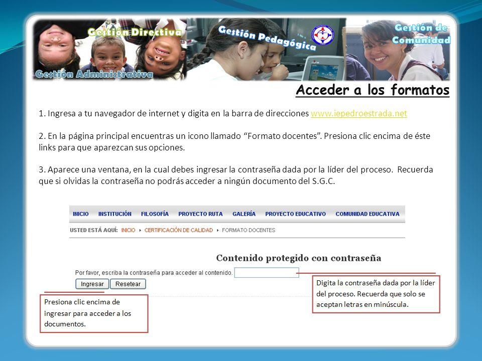 1. Ingresa a tu navegador de internet y digita en la barra de direcciones www.iepedroestrada.netwww.iepedroestrada.net 2. En la página principal encue