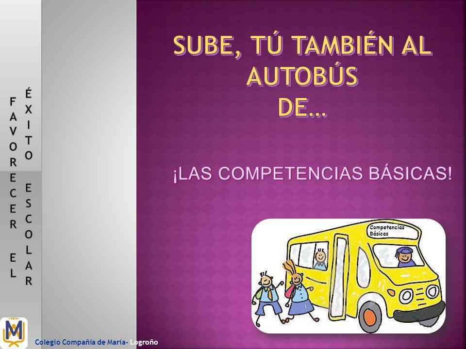 Competencias Básicas Colegio Compañía de María- Logroño