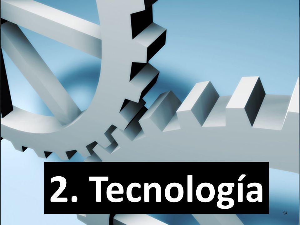 24 2. Tecnología