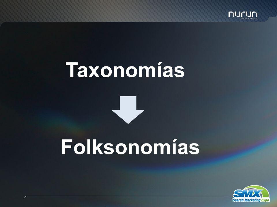 63 Taxonomías Folksonomías