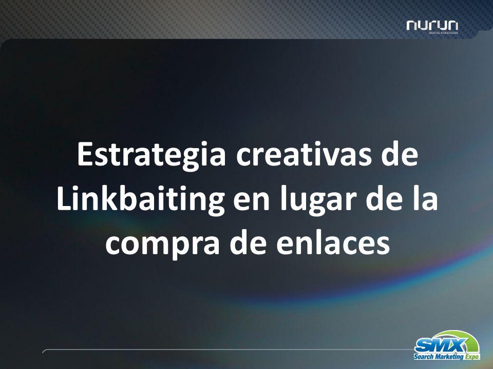 66 Estrategia creativas de Linkbaiting en lugar de la compra de enlaces