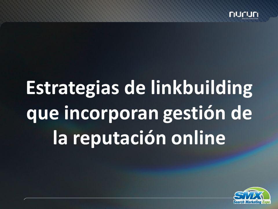 68 Estrategias de linkbuilding que incorporan gestión de la reputación online