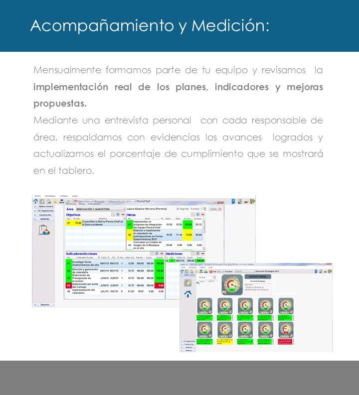 Genera de forma práctica reportes que te ayudarán a concentrar la información sobre el desempeño de todas las áreas.