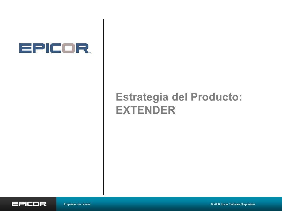 Partes, Alternas y Referencias cruzadas 1 Empresas sin Límites© 2008 Epicor Software Corporation.