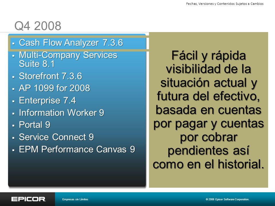 Capacidades de Operación Empresas sin Límites© 2008 Epicor Software Corporation.