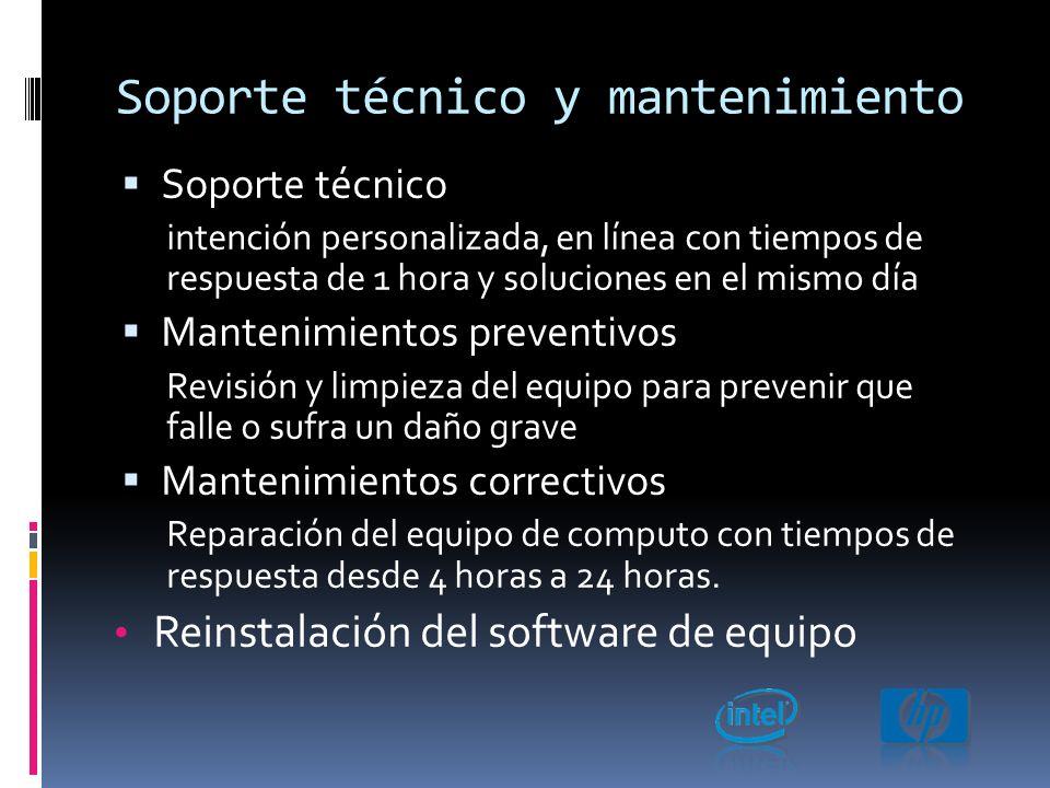 Redes y seguridad Instalación de servidores Sistemas operativos, cableado y configuración en toda la red.