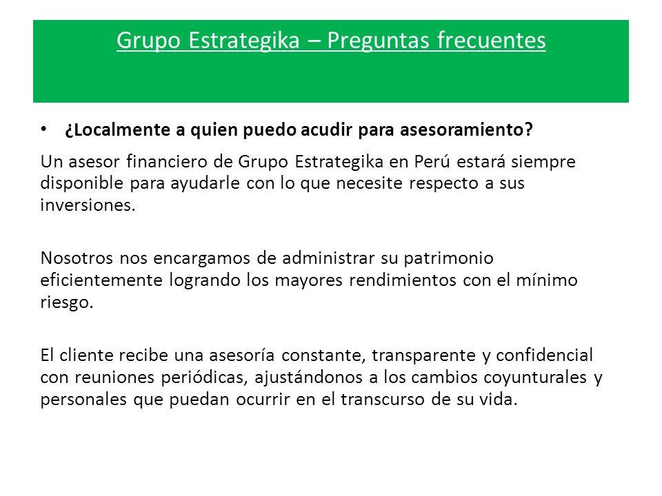 Grupo Estrategika – Preguntas frecuentes ¿Localmente a quien puedo acudir para asesoramiento.