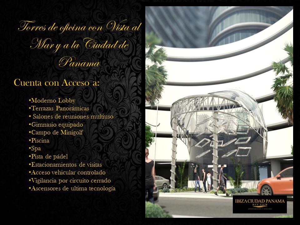 Cuenta con Acceso a: Moderno Lobby Terrazas Panorámicas Salones de reuniones multiuso Gimnasio equipado Campo de Minigolf Piscina Spa Pista de pádel E