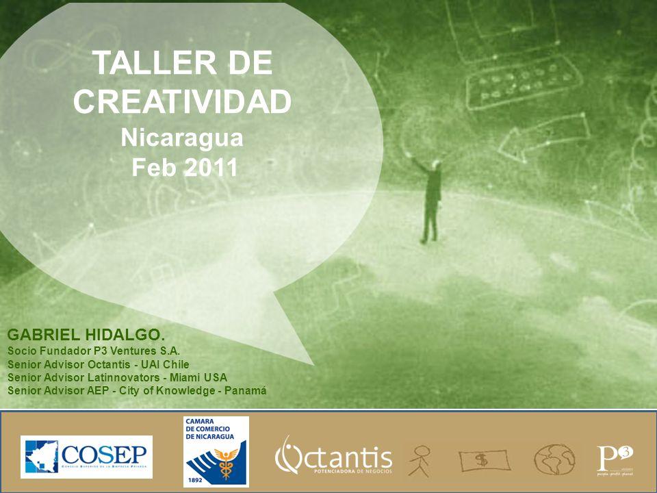 TALLER DE CREATIVIDAD Nicaragua Feb 2011 GABRIEL HIDALGO.