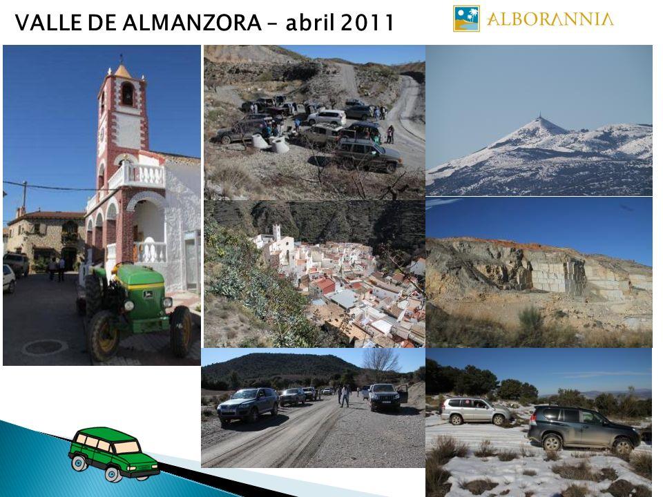 VALLE DE ALMANZORA – abril 2011