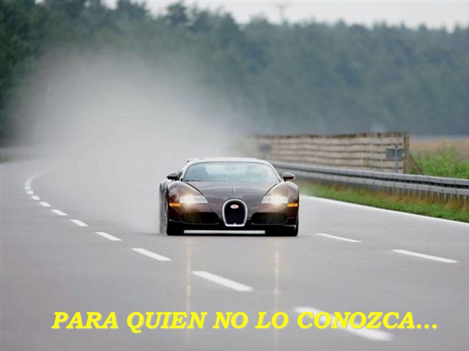 VEYRON El coupé deportivo de BUGATTI, y más potente del Mundo