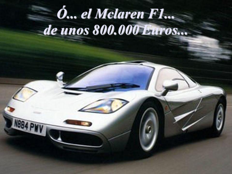 El...Koenigsegg CCR de unos 950.000 Euros