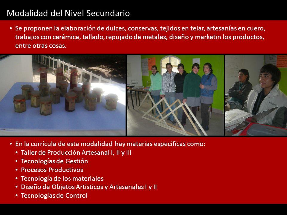Construcción de un edificio exclusivo para el Nivel Secundario.