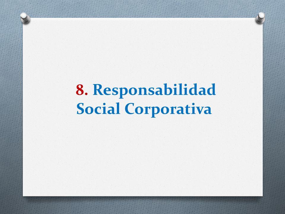 8. Responsabilidad Social Corporativa