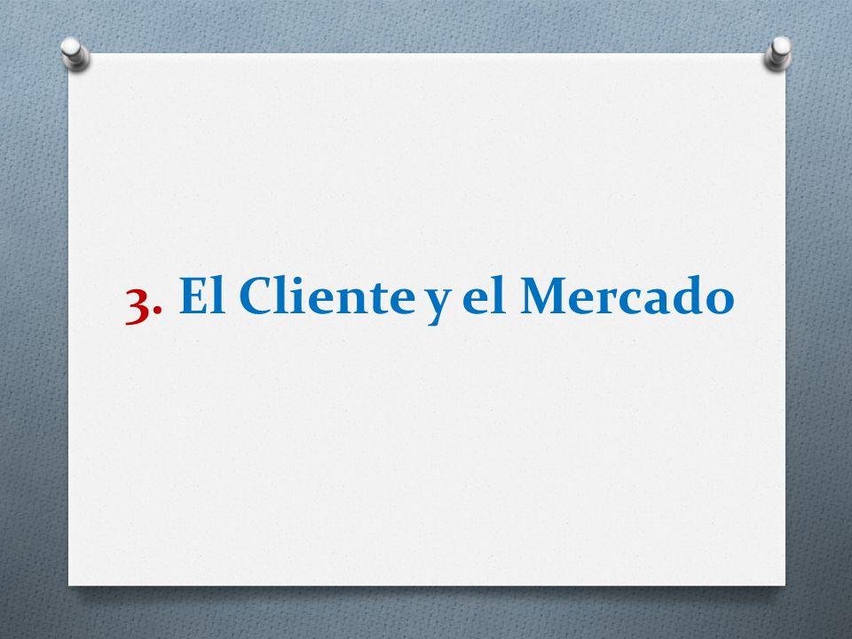 3. El Cliente y el Mercado