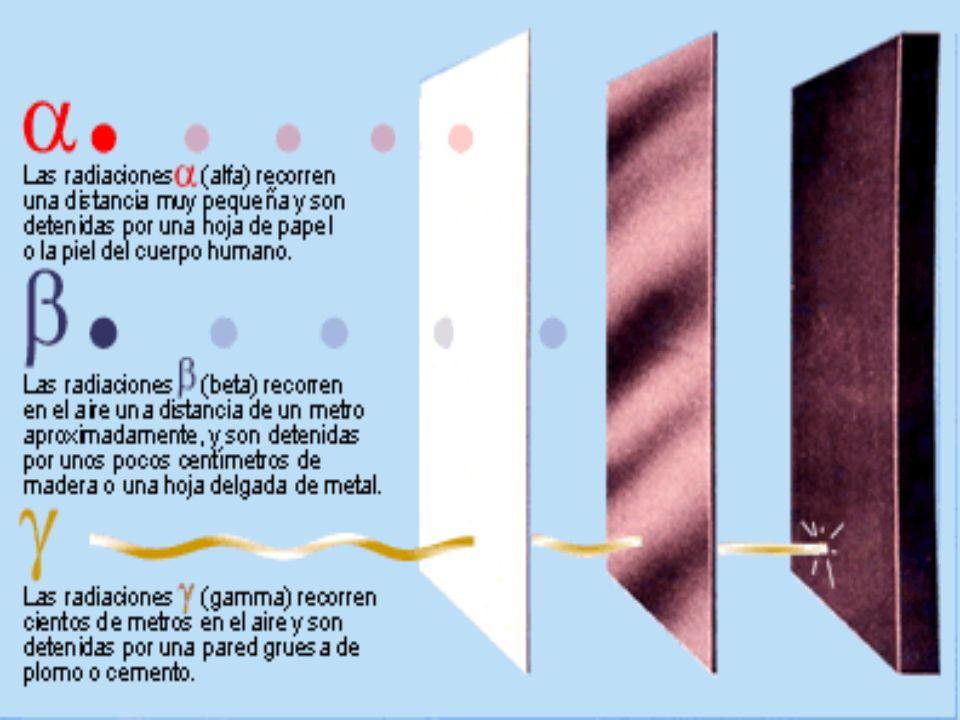 La desintegración alfa es una forma de desintegración radiactiva donde un núcleo atómico emite una partícula alfa mediante fuerzas electromagnéticas y se transforma en un núcleo con 4 unidades menos de número másico y dos unidades menos de número atómico.