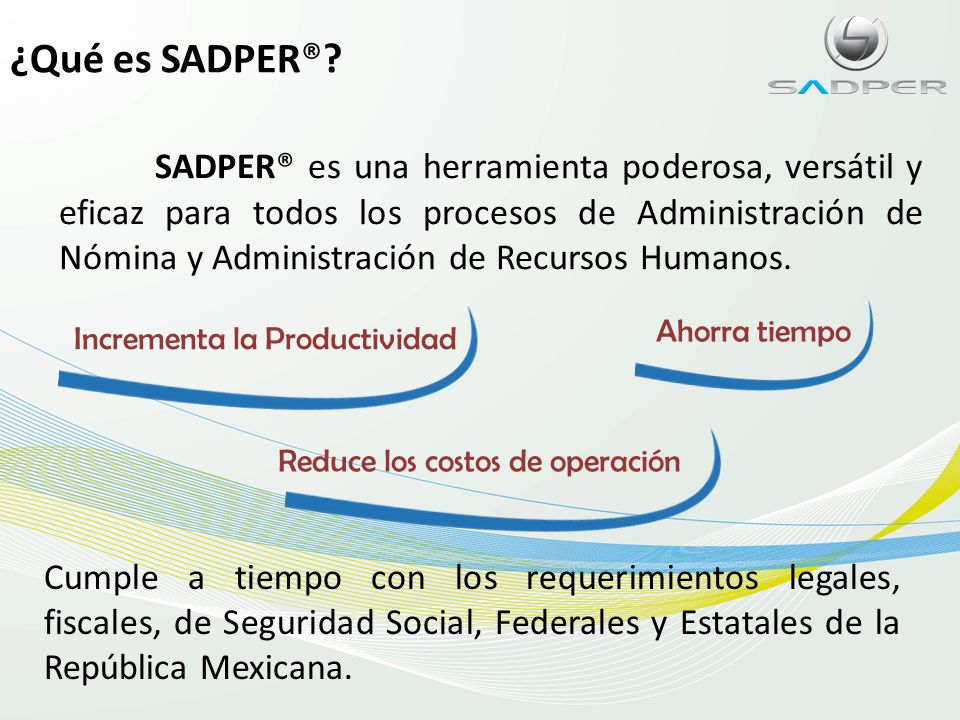 Planes de contratación SADPER® compra SADPER® rentaSADPER® certifica recibos de nómina con CertiNOM