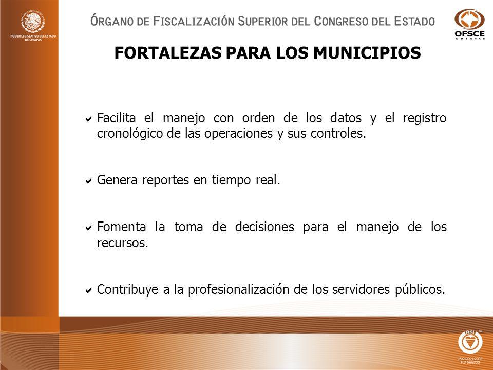 Facilita el manejo con orden de los datos y el registro cronológico de las operaciones y sus controles.