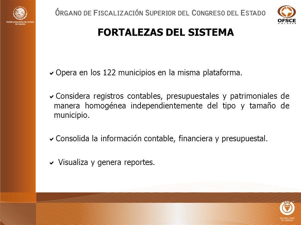 Opera en los 122 municipios en la misma plataforma.