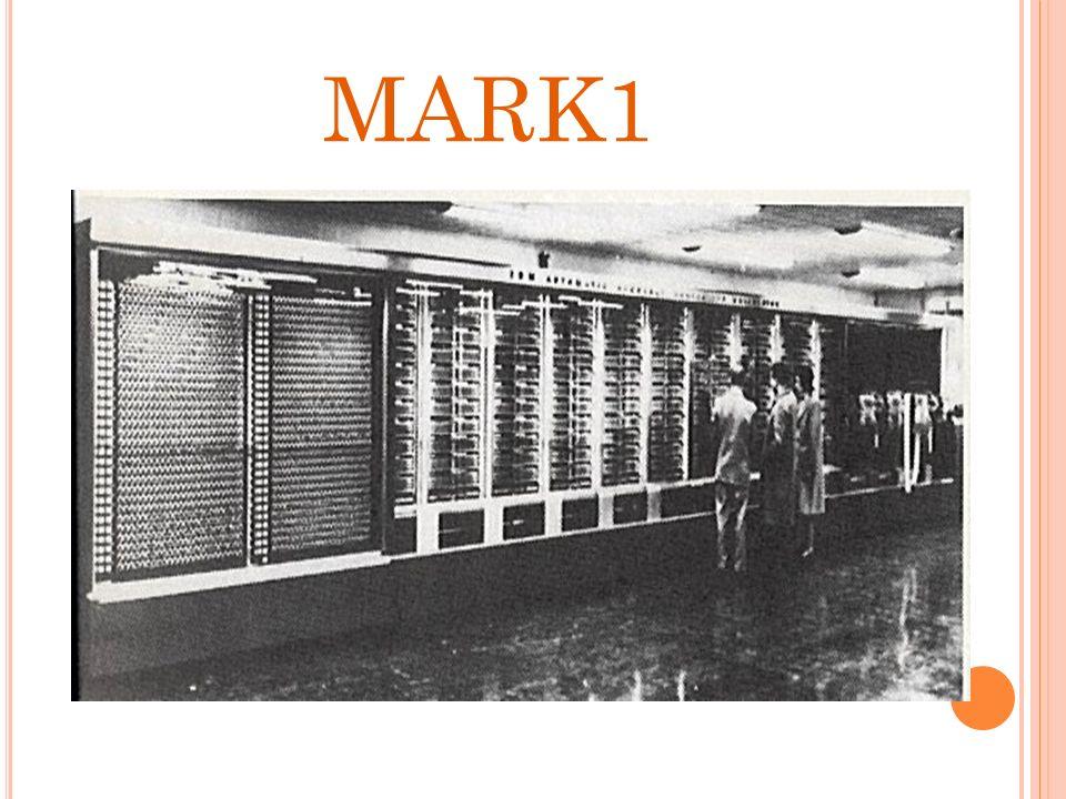 HAWARD H. AIKEN (1944) DIMENSIÓN Media 15.5 metros de largo Media 2.40 metros de alto 1.60 cm de ancho. MATERIAS 5 toneladas Cableaos de unos 800 kiló
