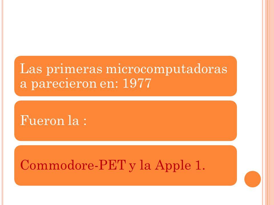 CUARTA GENERACION (1971-1981) Microprocesador.Es un circuito integrado que contine algunos de todos los elementos necesarios para conformar 1 (o mas )
