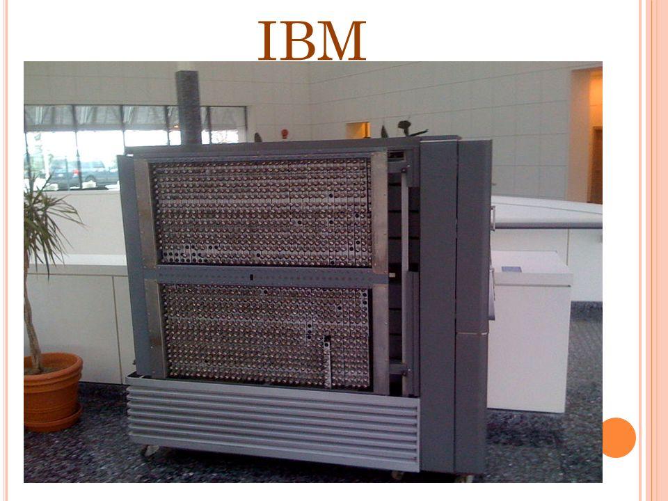 1914 LEONARDO TORRES INVENTA UN JUGADOR AUTOMATICO DE AGEDRES 1924-1931 IBM Y BULL Desarrollan una maquina registradora 1936 ALAN TURING Establecen lo