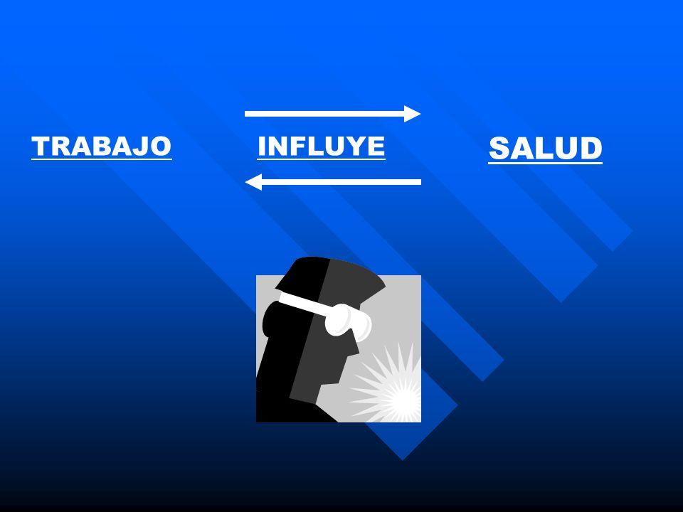 TRABAJO SALUD INFLUYE