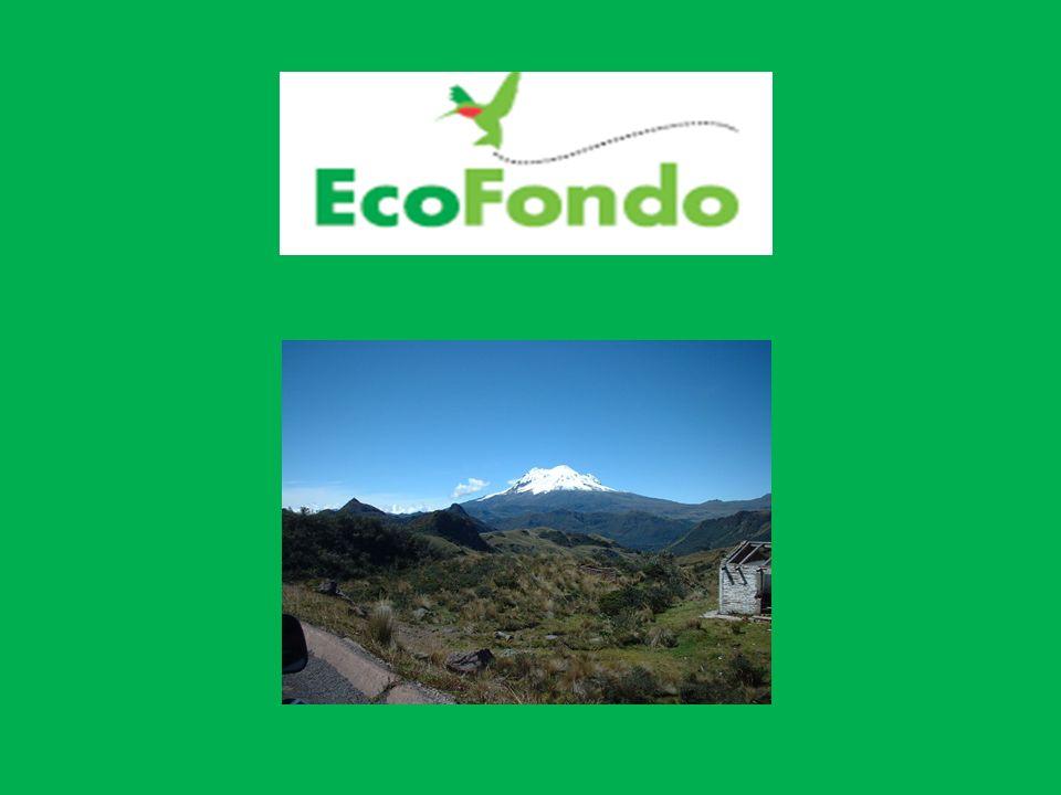 QUE ES EL ECOFONDO.El EcoFondo nace de la decisión voluntaria de OCP Ecuador S.A.