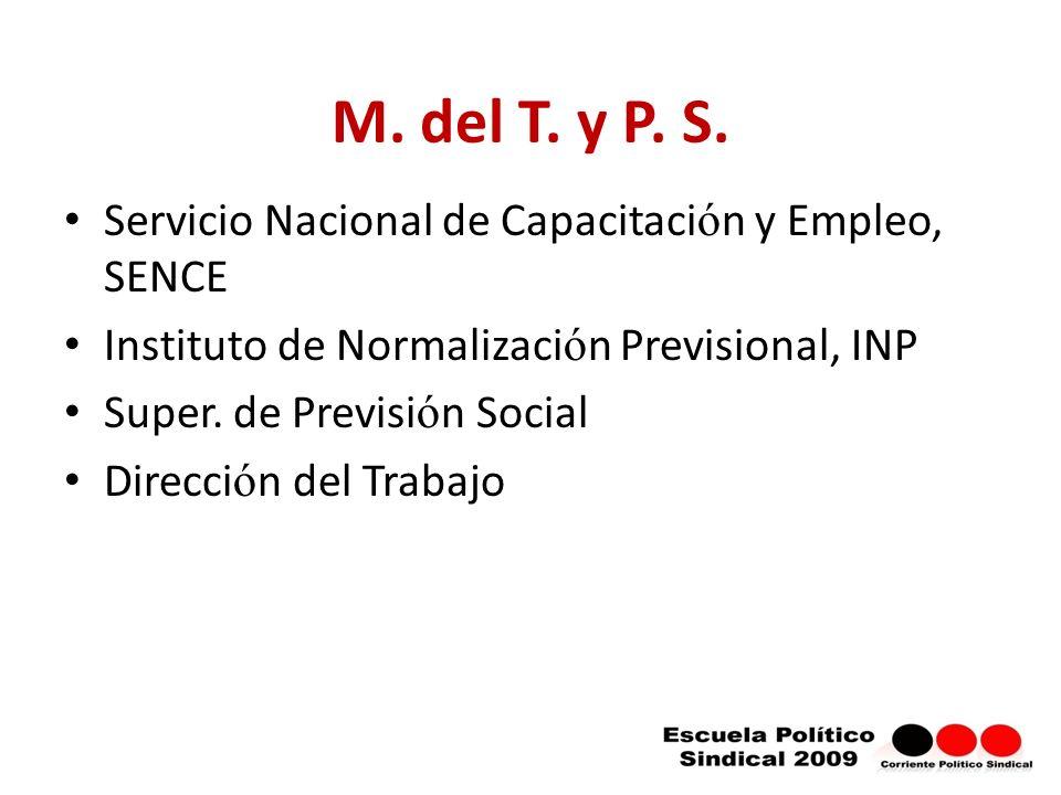 M.del T. y P. S.