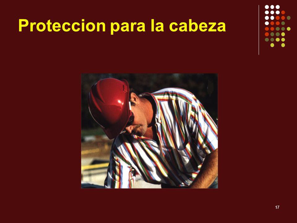 17 Proteccion para la cabeza