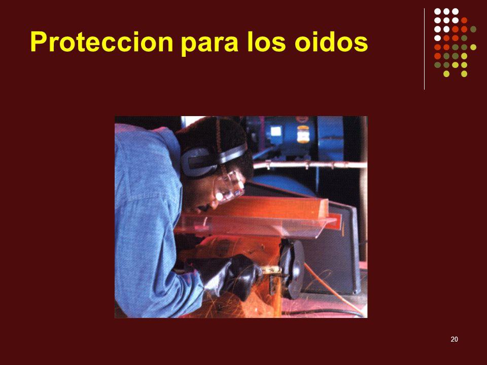 20 Proteccion para los oidos