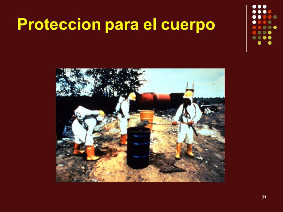 31 Proteccion para el cuerpo