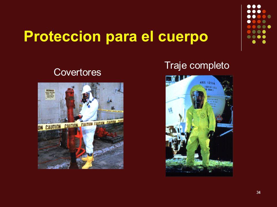 34 Covertores Traje completo Proteccion para el cuerpo