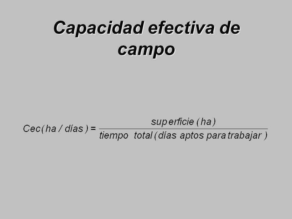 Capacidad efectiva de campo