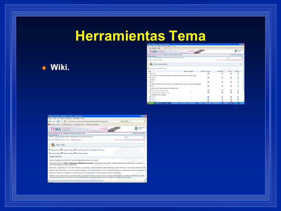 Herramientas Tema l Wiki.