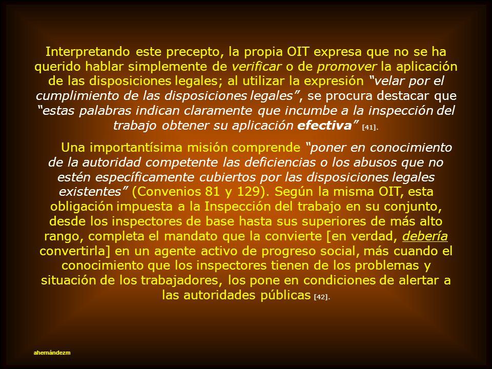 V.- FISCALIZACIÓN ES FACTOR ESENCIAL PAPEL OBLIGATORIO DE LA DIRECCIÓN DEL TRABAJO Ninguna norma puede imperar sin un eficiente aparato fiscalizador.