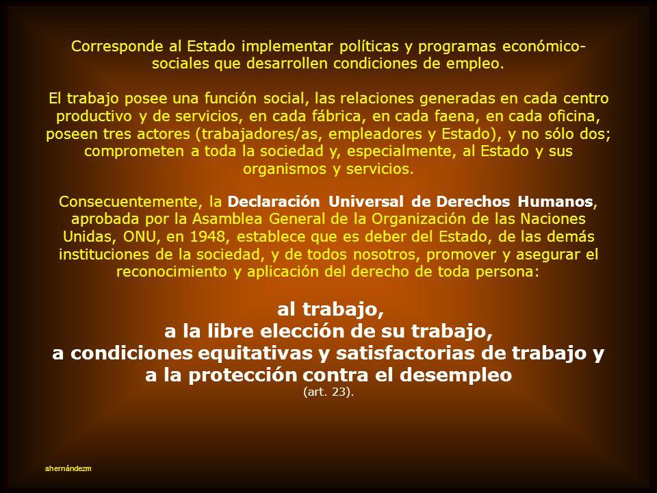 DERECHO AL TRABAJO DIGNO La OIT y los pactos internacionales De los documentos jurídicos que regulan temas laborales, destaquemos los Pactos internaci