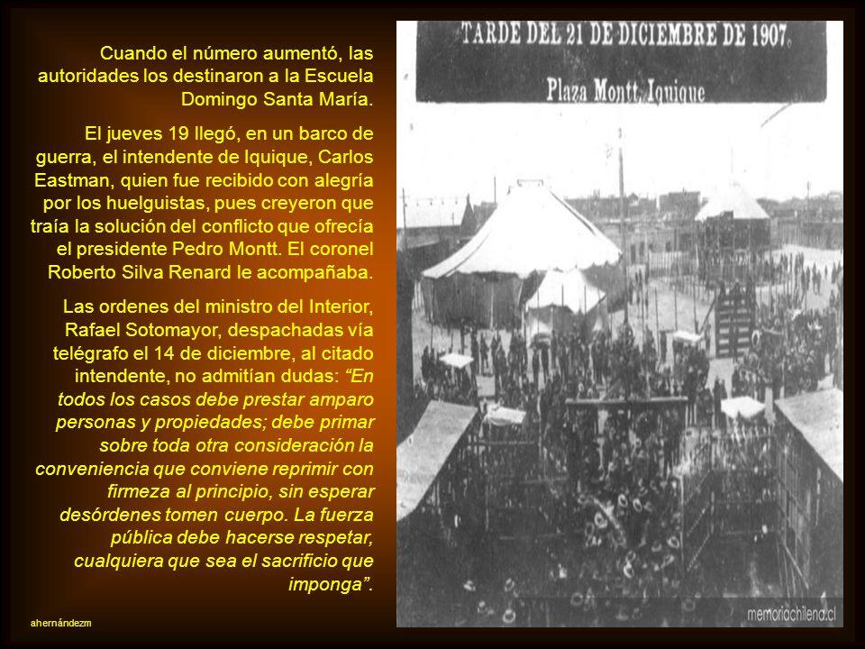 Los empresarios, muchos de ellos ingleses, no respondieron. El 10 de diciembre, los trabajadores de la Oficina San Lorenzo declararon la huelga. En do