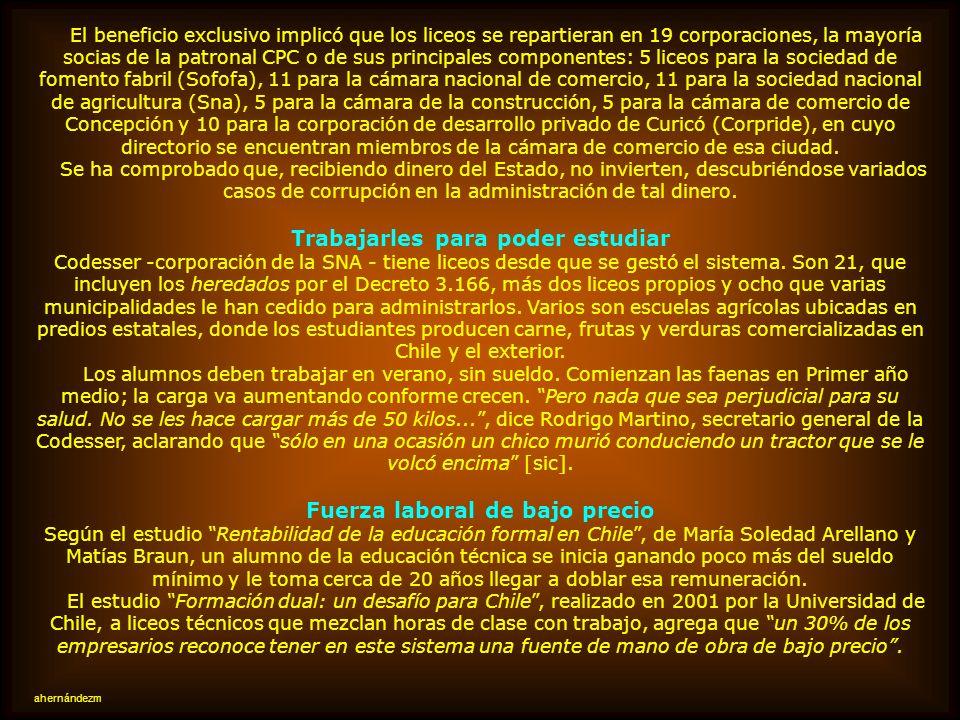 FACTORES DE FORMACIÓN Y CONTROL DE TRABAJADORES OBEDIENTES Y BARATOS a) ANTES DE INGRESAR COMO DEPENDIENTE A OTROS: La influencia que hoy han adquirid