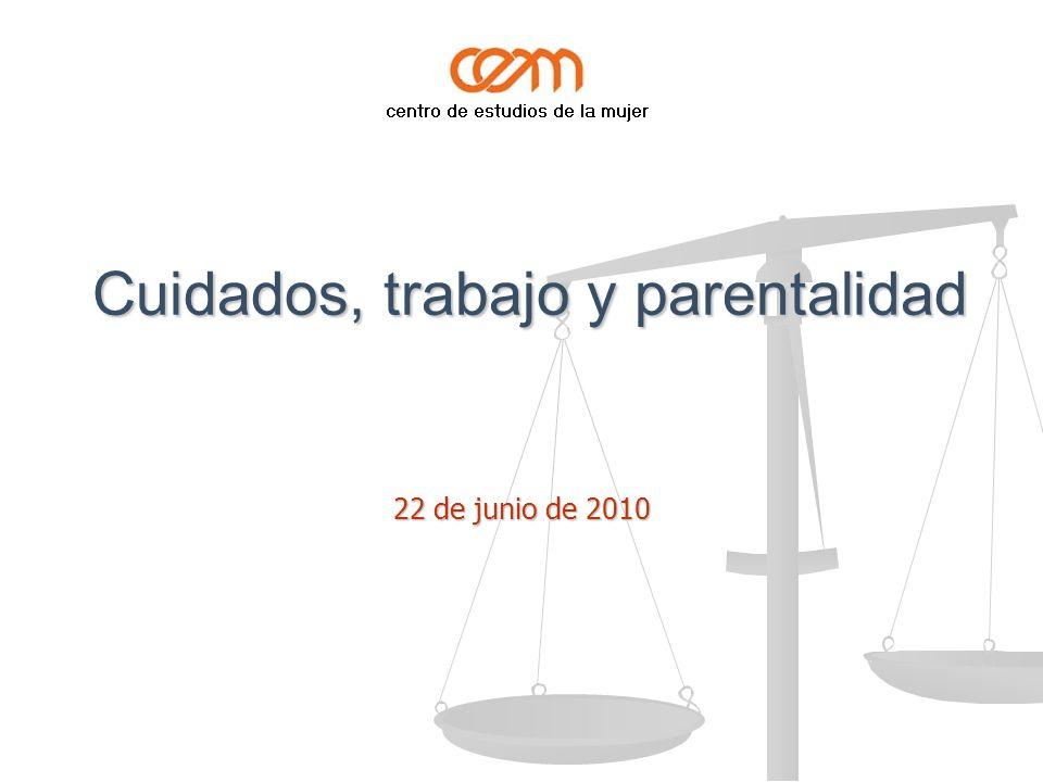 Cuidados, trabajo y parentalidad Cuidados, trabajo y parentalidad 22 de junio de 2010