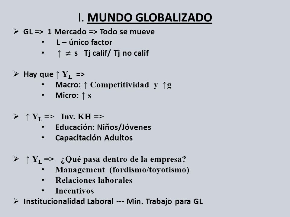 C.Empresa Moderna Alta-Productiv. en GL conτ y D 1.Modelo Fordista Jerárquico vs.