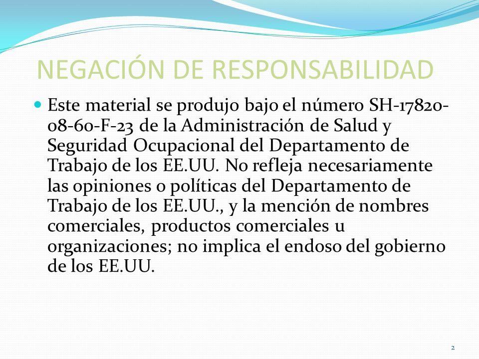 Objetivos Describir las responsabilidades del empleado con respecto al EPP.