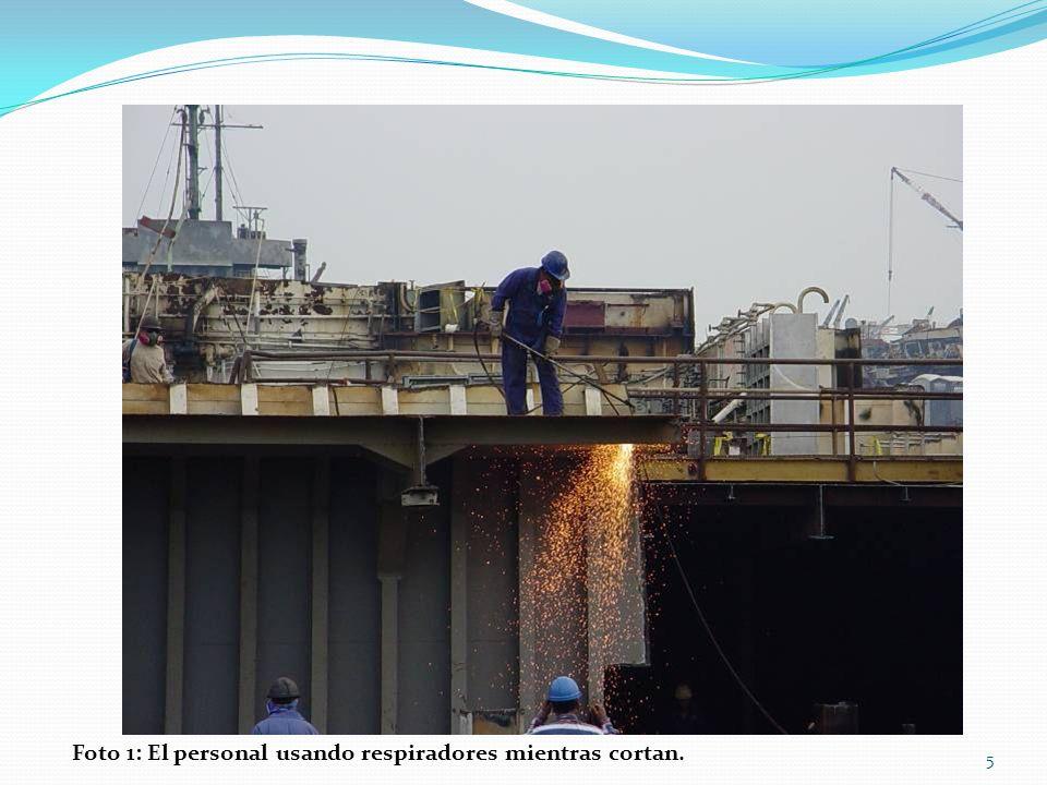 Los cascos protegen al trabajador cuando se topa con objetos o recibe un golpe en la cabeza por un objeto que cae.