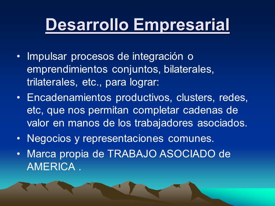 Intercambio de visitas de delegaciones de cooperativas de base.