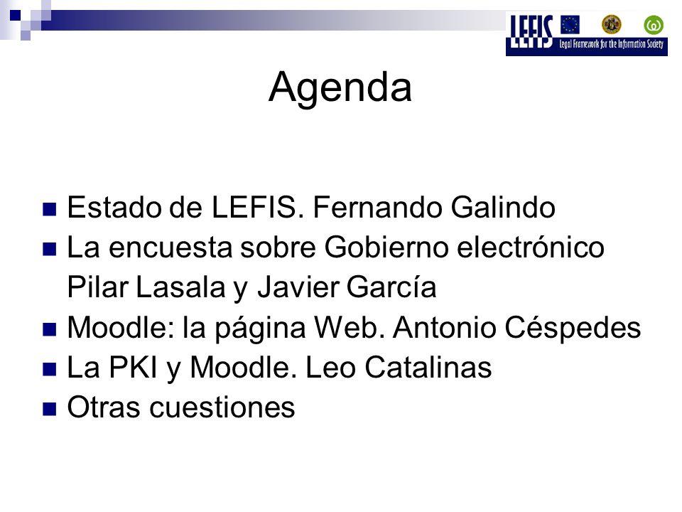 Agenda Estado de LEFIS.