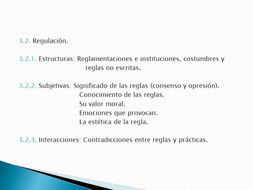 3.3.Construcción social de la ocupación. 3.3.1.