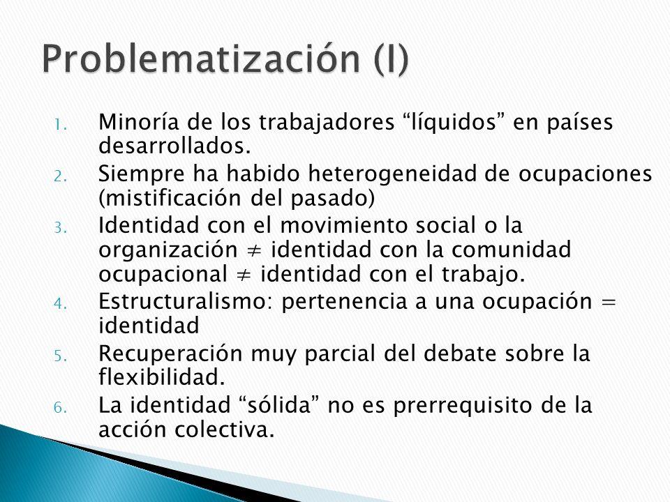 1.La identidad como configuración de códigos de identificación: niveles de abstracción.