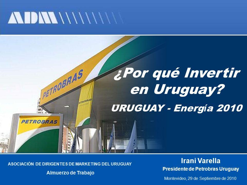 2 ¿Por qué Invertir en Uruguay.Matriz Energética Brasil.