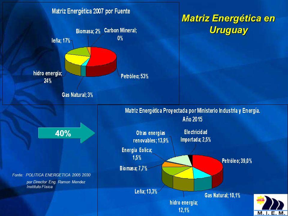 Almuerzo de Trabajo 9 América Latina: MATRIZ ENERGÉTICA Fuente: BP